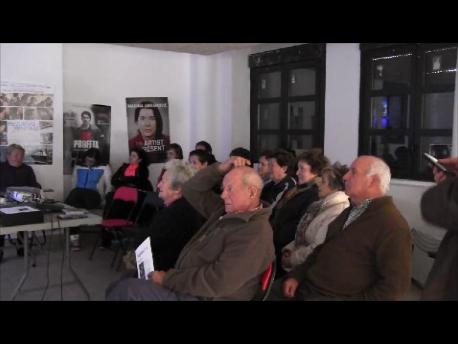 Proyección en Santa Eulalia del Gallego